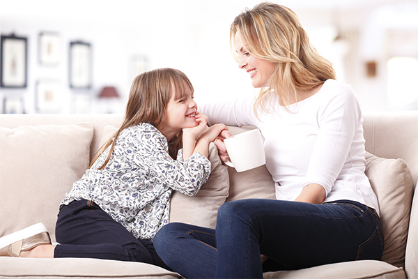 Advice about telling your child